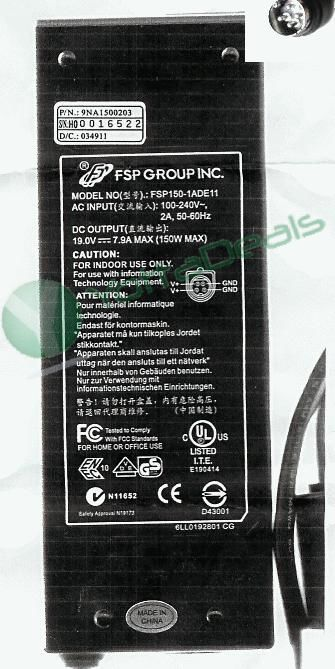 FSP FSP150-1ADE11 AC Adapter 19V 7.9A 150W 4 pin 10.0mm For 150-1ADE11 9NA1500203 9NA1500104 7011770000 40003565 9N.A1500.104 New