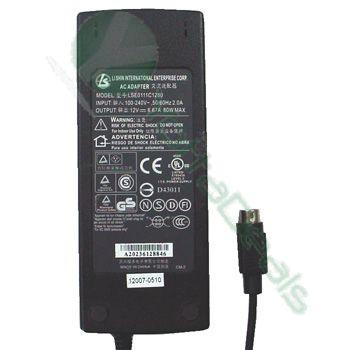 LI SHIN Genuine Original LSE9802B1247 AC Adapter 12V 3.92A For NORTHGATE XTERASYS A900 ECS Desknotes A900 A907 Excelente 510 New