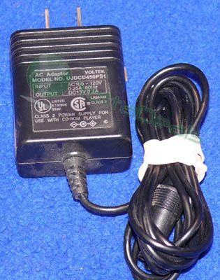 AC Adapter 7.5V 1.1A for Digital Camera Voltek Model 8233 Brand New